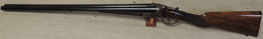 C Galand of Paris 16 GA Antique Side by Side Shotgun S/N 5933