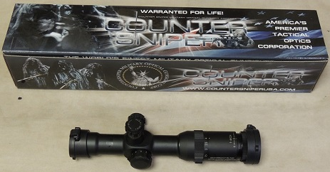 Counter Sniper Crusader 1-4x 24mm Illuminated TDRM Reticle Rifle