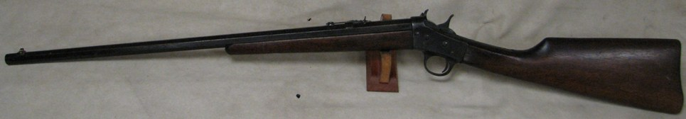 Remington New Model 4 Takedown Rolling Block Rifle .22 S,L,LR Ca