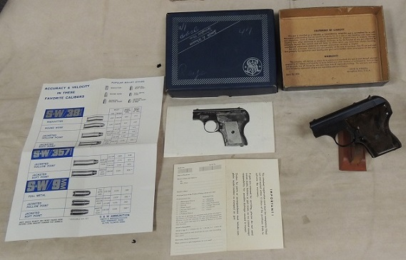 Smith & Wesson Model 61-2 Escort .22 Automatic .22 LR Caliber Pi