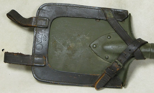 German WWI Imperial Trench Shovel Dated 1915 With Carrier